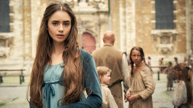 ©BBC Les Miserables Lily Collins
