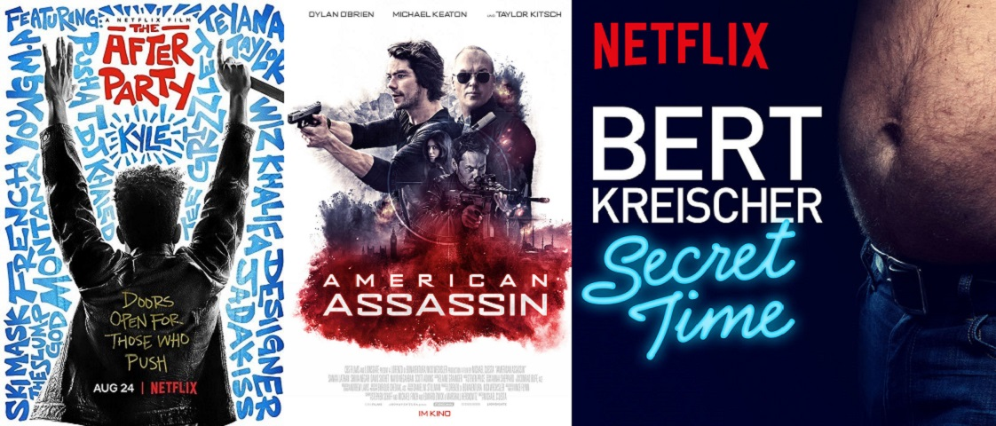 ©Netflix ©Studiocanal GmbH Filmverleih The After Party American Assassin Bert Kreischer: Secret Time