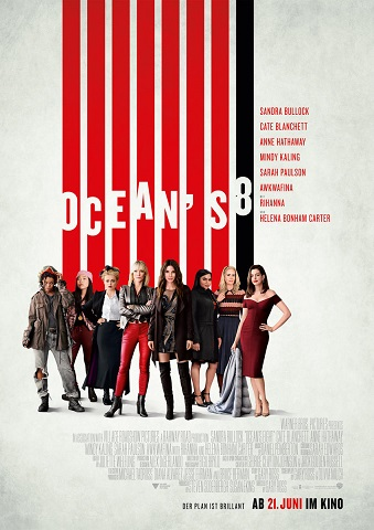 ©Warner Bros. Entertainment Ocean's 8 Kritik Ocean's 8 Review