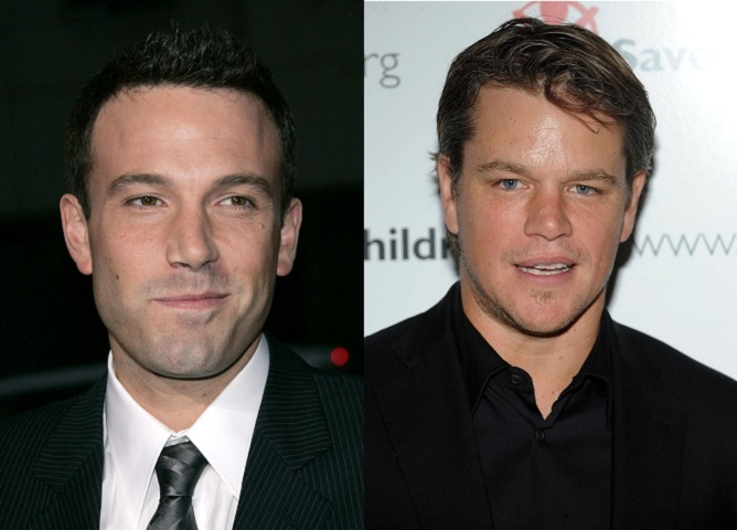 Ben Affleck und Matt Damon in McDonald's Film