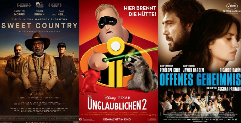It's Kino Trailer Time: 3 Highlights für den 27. September