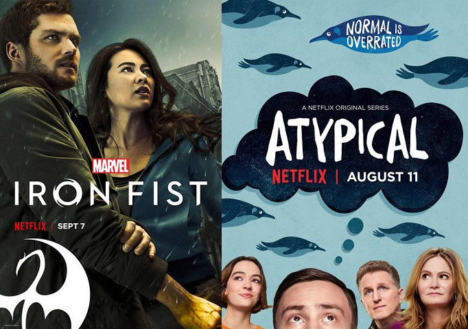©Netflix Marvel's Iron Fist Atypical Serien Trailer Time