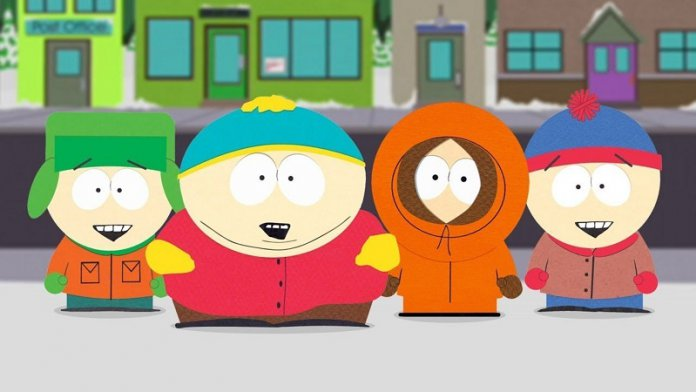 ©Comedy Central South Park Staffel 22 Kenny Kyle Stan Eric Cartman