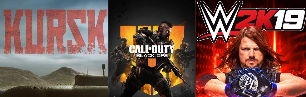 ©Jujubee ©Activision ©Take-Two Interactive Kursk Call of Duty Black Ops 4 WWE 2K19 Game Trailer Time