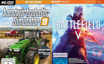 ©Giants Software ©EA Landwirtschafts-Simulator 19 Battlefield 5 Battlefield V Games Trailer Time