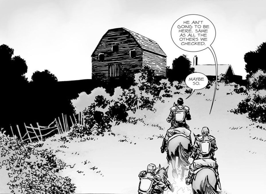 ©Charlie Adlard/Skybound The Walking Dead Staffel 9 Whisperers Midseason Finale 09x08