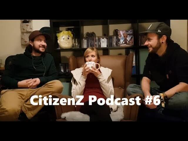 CitizenZ Podcast #6 Mortal Engines, Nightflyers, Mogli, You, und mehr