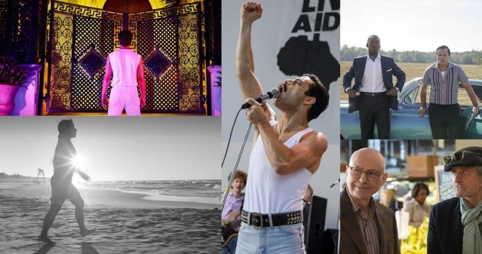 ©FX Network ©Netflix ©Entertainment One ©20th Century Fox American Crime Story The Kominsky Method Roma Green Book Bohemian Rhapsody Golden Globes 2019