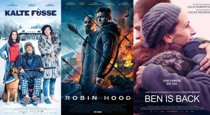 ©Sony Pictures Entertainment ©Studiocanal ©Tobis Film kalte füsse robin hood ben is back kino trailer time