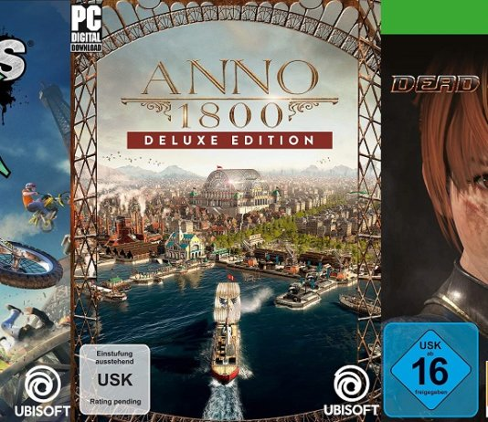 ©Ubisoft ©Koei Tecmo Trials Rising anno 1800 dead or alive 6 games trailer time