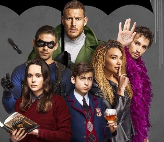 ©Netflix The Umbrella Academy Robert Sheehan Ellen Page Superhelden Serie