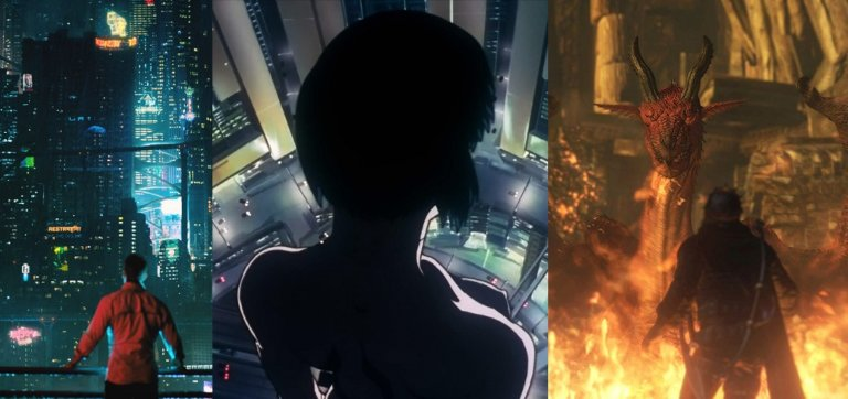 Dragon's Dogma, Altered Carbon & Ghost in the Shell Anime auf Netflix