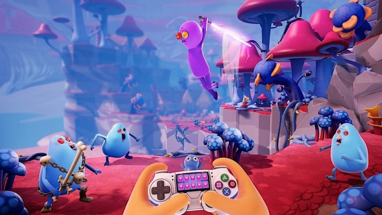 """Justin Roilands """"Trover Saves the Universe"""" kommt im Mai für PS4 & PS VR"""