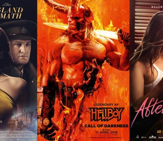 ©20th Century Fox ©Universum Film ©Constantin Film niemandsland the aftermath hellboy call of darkness after passion kino trailer time