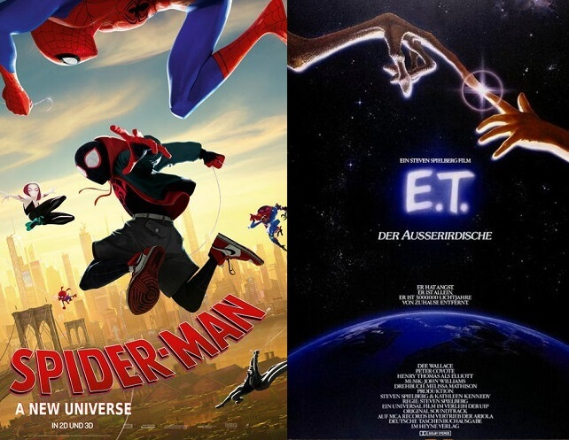 ©Sony Pictures ©United International Pictures Spider-Man A new universe the silence die stille e.t. der ausserirdische