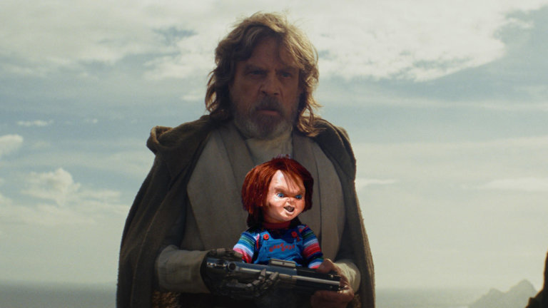 Mark Hamill spricht Chucky die Mörderpuppe in Child's Play