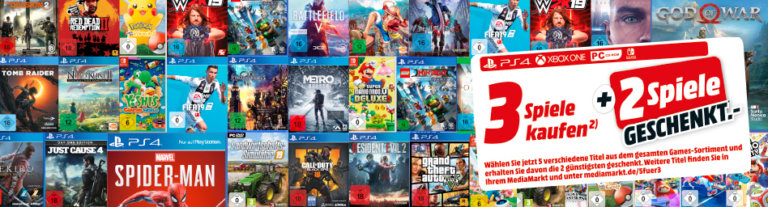Gaming Deals zu Ostern bei Media Markt