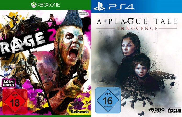 ©Bethesda ©Focus Home Interactive rage 2 a plague tale innocence games trailer time