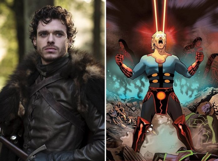 ©HBO/Marvel Robb Stark Game of Thrones Richard Madden The Eternals Marvel Disney