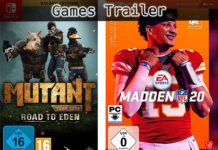 ©Funcom ©EASports , Mutant year zero road to eden , madden nfl 20 , games trailer time