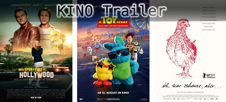 It's Kino Trailer Time: 3 Highlights für den 15. August