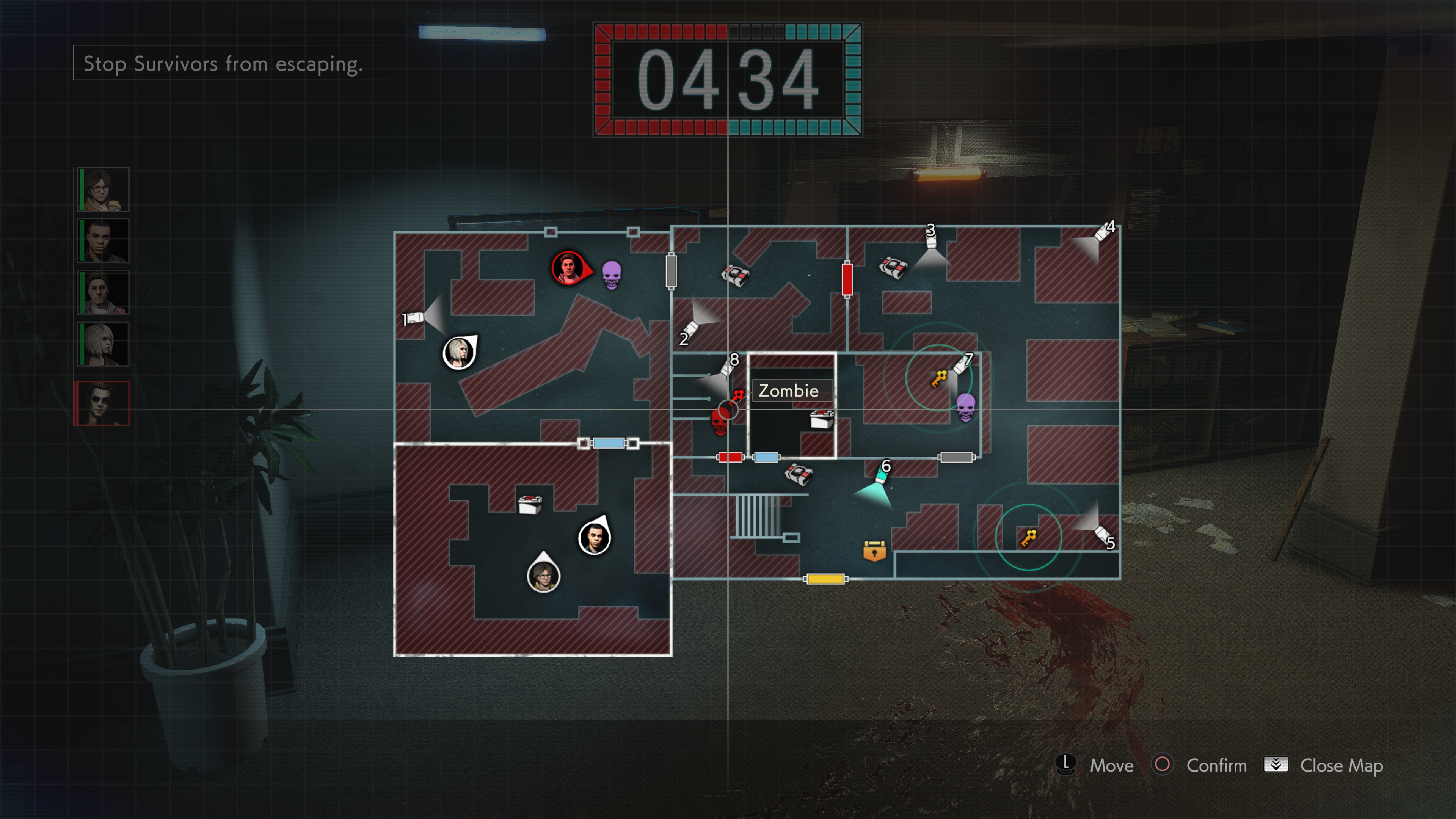 Mastermind map PS4