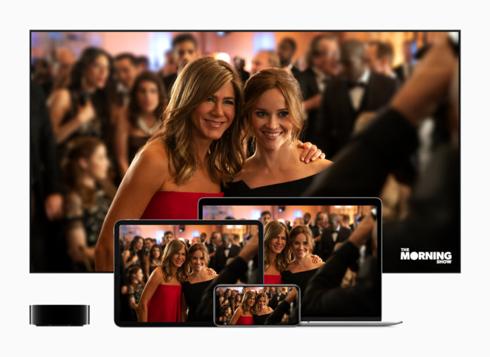 Apple tv plus launches november 1 the morning show screens 091019