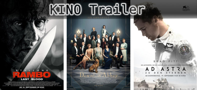 It's Kino Trailer Time: 3 Highlights für den 19. September