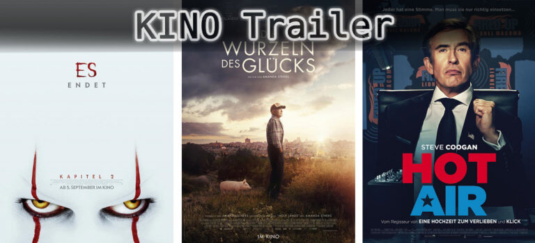 It's Kino Trailer Time: 3 Highlights für den 05. September