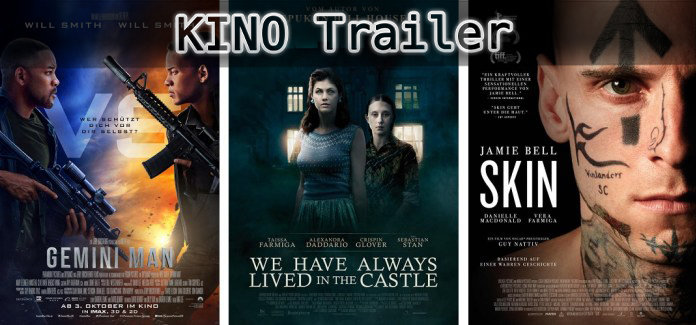 ©Paramount Pictures ©Kinostar ©24 Bilder , Gemini Man , We have always lived in the castle , skin , kino trailer time