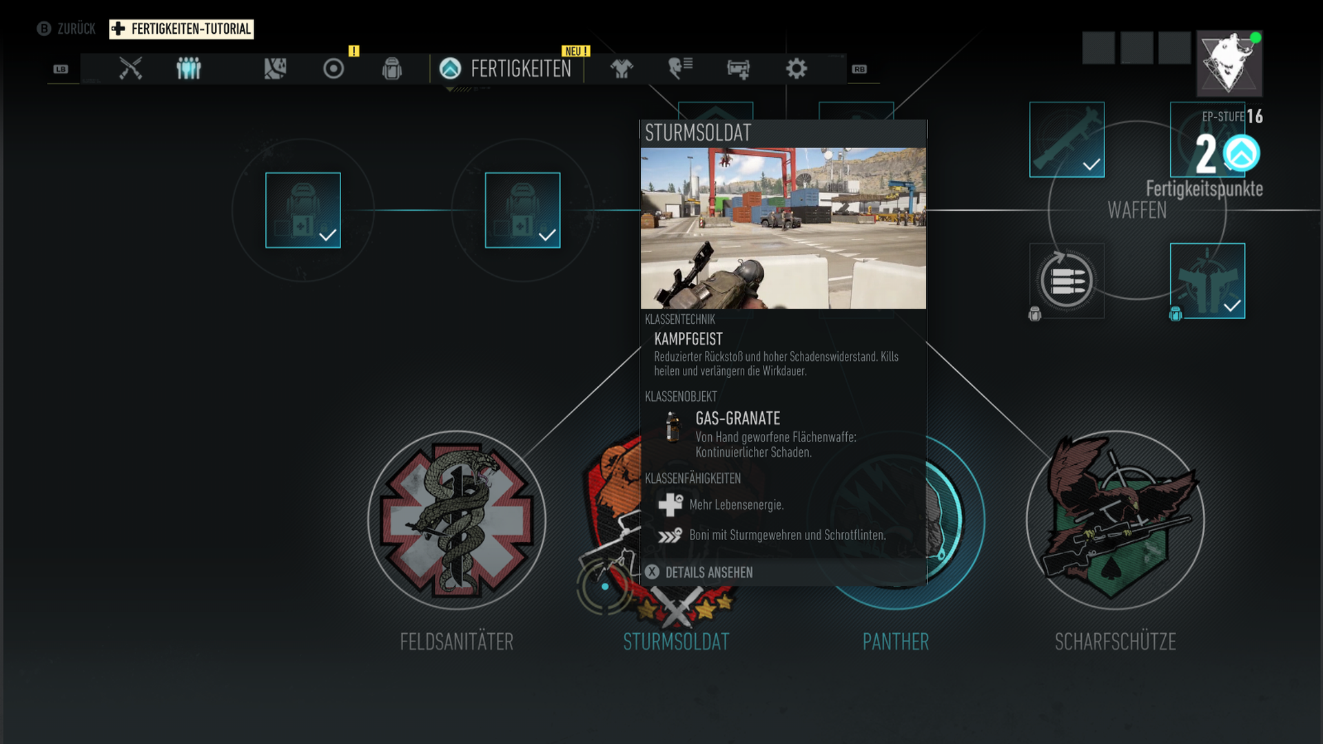 Tom Clancy's Ghost Recon® - Skillbaum 2