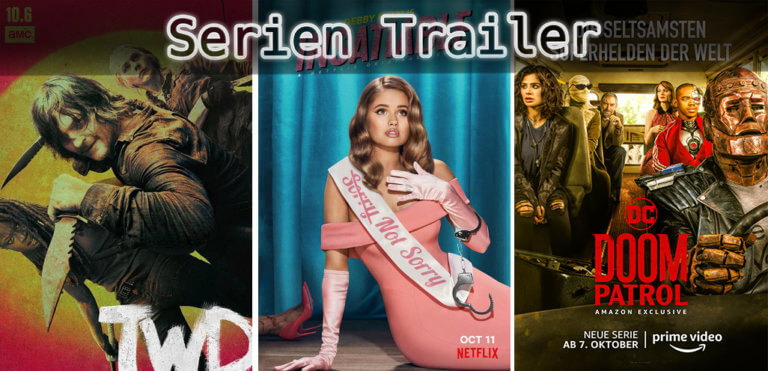 It's Serien Trailer Time: Walking Dead, Insatiable & Doom Patrol