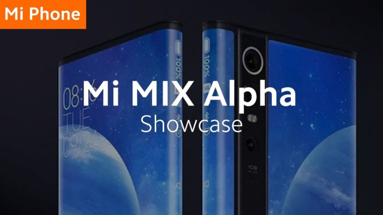 Das Mi MIX Alpha – Ein Smartphone mit Surround Display