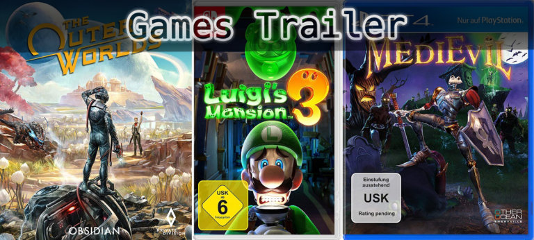 It's Games Trailer Time: Outer Worlds, MediEvil & Luigi's Mansion