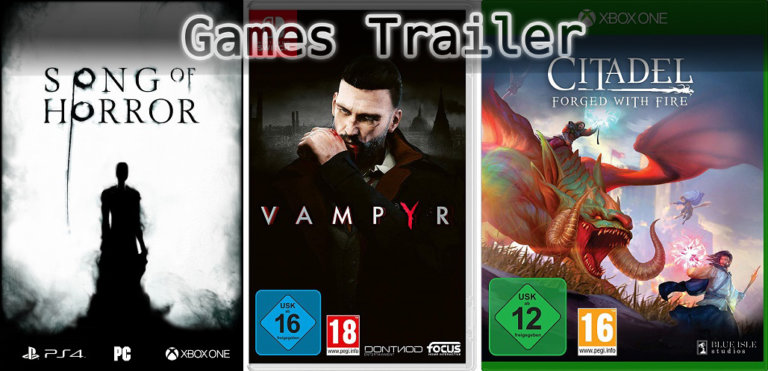 It's Games Trailer Time: Vampyr, Song of Horror & Citadel