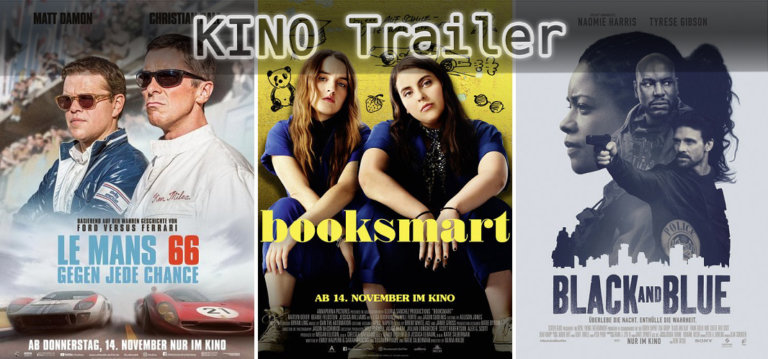It's Kino Trailer Time: Le Mans 66, Booksmart & Black and Blue
