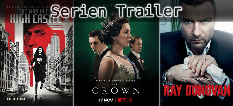 It's Serien Trailer Time: Man in the High Castle, Crown & Ray Donovan