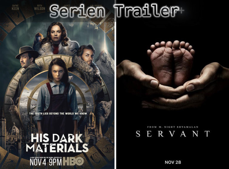 It's Serien Trailer Time: Verbrauchermarkt, Dark Materials & Servant