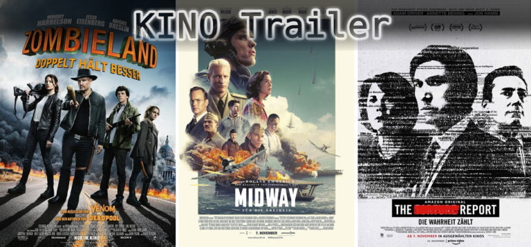 It's Kino Trailer Time:  Zombieland, Midway & The Report