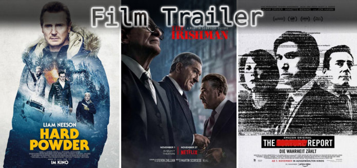 It's Film Trailer Time: Hard Powder, Irishman & The Report