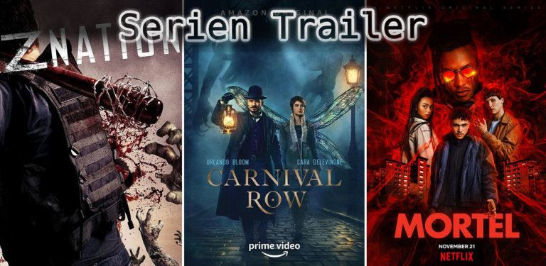It's Serien Trailer Time: Z Nation, Carnival Row & Sterbliche