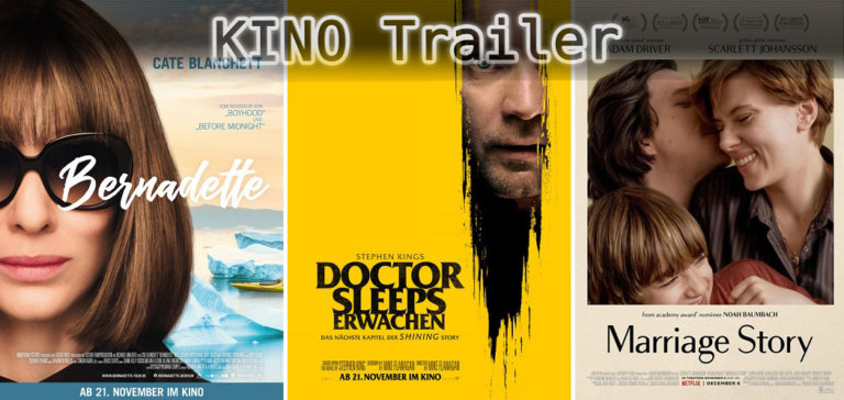 It's Kino Trailer Time: Bernadette, Doctor Sleep & Marriage Story