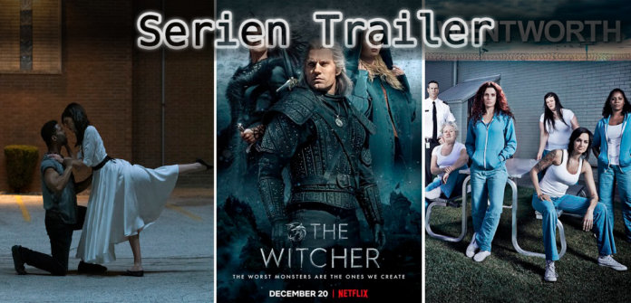 It's Serien Trailer Time: Soundtrack, Witcher & Wentworth