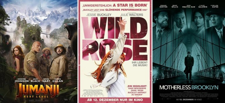 It's Kino Trailer Time: Jumanji, Wild Rose & Motherless Brooklyn