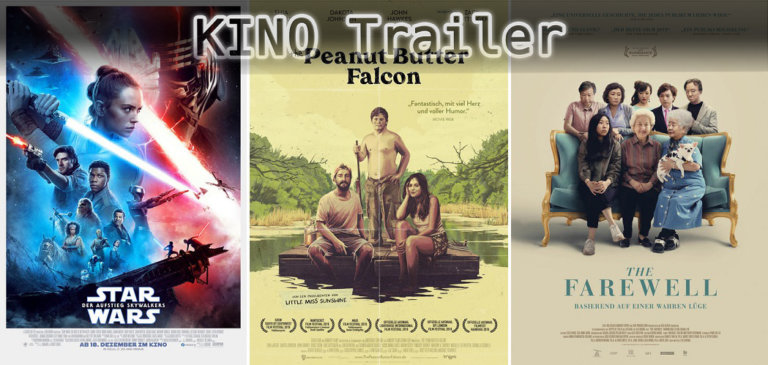 It's Kino Trailer Time: Star Wars, Peanut Butter Falcon & Farewell