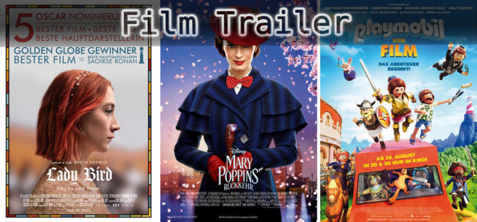 It's Film Trailer Time: Lady Bird, Mary Poppins & Playmobil