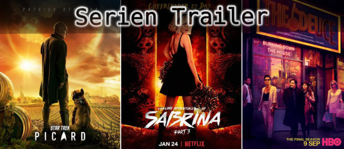 It's Serien Trailer Time: Picard, Sabrina & The Deuce