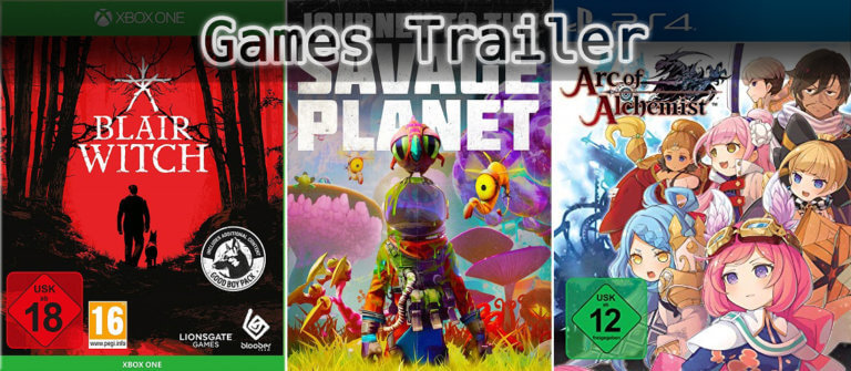 It's Games Trailer Time: Blair Witch, Savage Planet & Arc of Alchemist