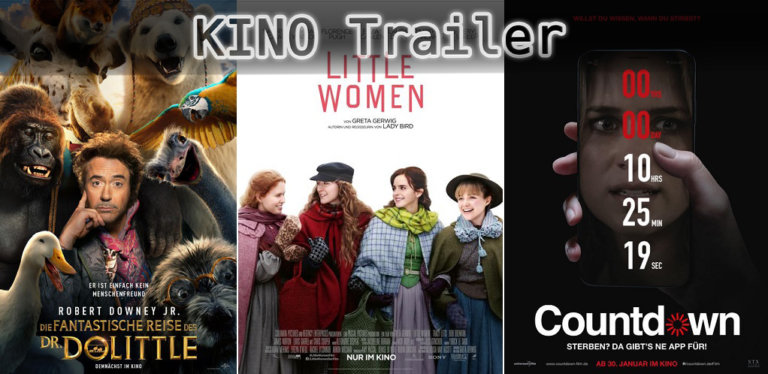 It's Kino Trailer Time: Dr. Dolittle, Little Women & Countdown