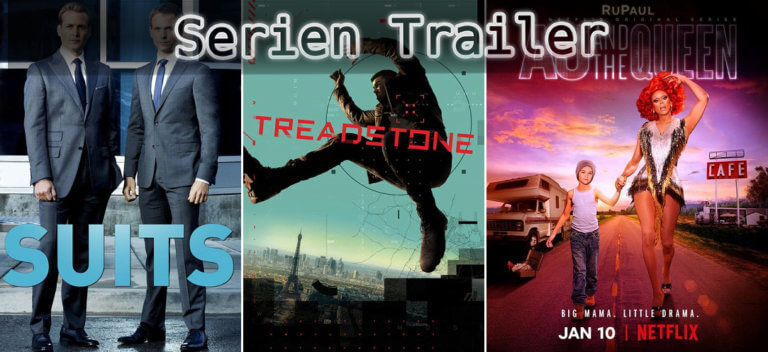 It's Serien Trailer Time: Suits, Treadstone & AJ and the Queen